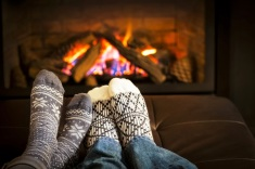 Image result for warm up by the fireplace